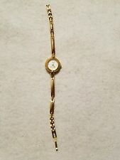 TIMEX WATCH ESSENTIALS WOMENS LADIES WRIST WATCH GOLD COLOR FREE SHIPPING