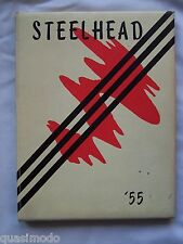 1955 THE DALLES HIGH SCHOOL, YEARBOOK  THE DALLES, OREGON  STEELHEAD