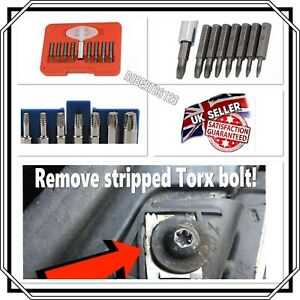 9pc Damaged Torx Extractor Set - Massive Time Saver, Snap Up On A Bargain