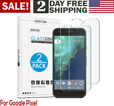 Google Pixel Screen Protector Tempered Glass Cover Film 2-Pack 2016 Smartphone