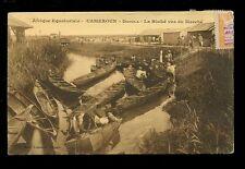 Africa France Cols Afrique Equatoriale Cameroun DOUALA La Bisike 1926 PPC