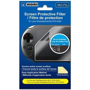 HORI Screen Protective Filter for PlayStation Vita 2000 Series [PSV Accessory]