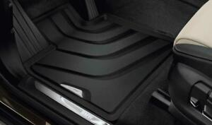 New Genuine BMW X3 F25 Front All Weather Floor Mat Set Rubber 51472286002