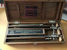 MEDICAL QUACKERY: Brown-Buerger Cystoscope Urological Instrument - Original Case