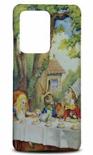 SAMSUNG GALAXY S SERIES PHONE CASE BACK COVER|ALICE IN WONDERLAND TEA PARTY