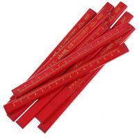 5/10 /30Pcs Crayons de charpentiers mènent pour menuisier de constructeur de  PM