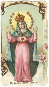 Santino Fustellato Madonna della Libera con Orazione (187)