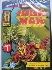 Marvel Iron Man Animated TV Series 1 Episodes 11 &12 (DVD) NEW SEALED PAL