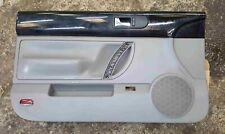 Volkswagen Beetle Convertible 2002-2006 Passenger NSF Front Door Card Black