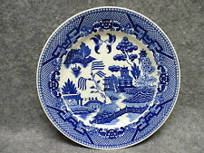 "Vintage Blue Willow Fine Quality Japan China 7-1/2"" Dessert Side Dish Plate"