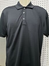 Mens Adidas Polo Golf Shirt New Black Short Sleeve Size Small