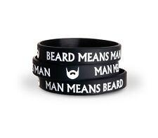 Braccialetto silicone Barber - Beard Wristband - Barba - Hipster / Style