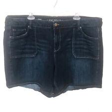 Lane Bryant Denim Shorts sz 24