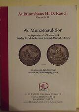 CATALOGO NUNISMATICO-H.D. RAUCH-95-DEL 30 SETT.2 OTT.2014-