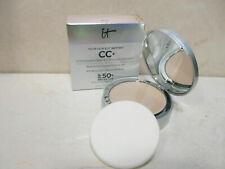 IT Cosmetics CC+ Airbrush Perfecting Powder ~ MEDIUM ~ 0.33 oz SPF 50+ ~ NIB
