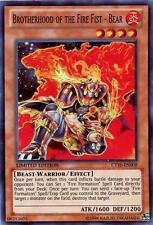 YuGiOh Brotherhood of the Fire Fist - Bear - CT10-EN008 - Super Rare - Limited E