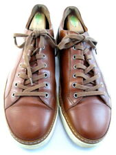 "Allen Edmonds ""PORTER DERBY"" Men's Casual Leather Sneakers 11 D  Walnut (497)"