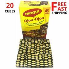 20 Cubes Maggi Djon Djon - Black Djondjon Mushroom Expiration 2021