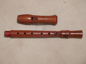 """Wooden Soprano Recorder made by Terminal 12"""""""