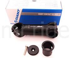 Giant Contact SL Od2 Stem 31.8 X 120mm /-8 Deg Titanium Bolt Black