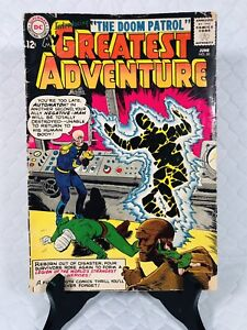DC COMICS * MY GREATEST ADVENTURE * #80 🚀 1963 🚀 DOOM PATROL VG
