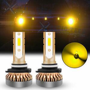 For Toyota High Power Golden Yellow Bright LED Bulbs DRL Daytime Running Light