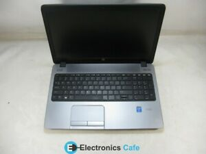 "HP ProBook 450 G1 15.6"" Laptop 2.4 GHz i3-4000M 4GB RAM (Grade C No Battery)"