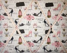 French Memory Boards Beauty Heels Perfume Floral Paris Memo Board New York Milan
