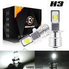 2pcs H3 LED Headlight 100W 10000LM FOG Light Bulbs 6000K White Driving DRL Lamp
