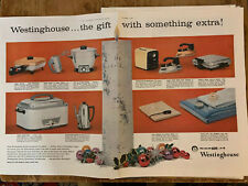 Vintage Westinghouse Small Kitchen Appliances Magazine Ad Paper Framable