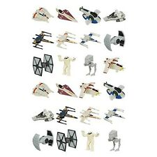 Case of 24 Star Wars The Force Awakens Micro Machines Blind Bag Vehicles Wave 2