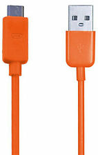 Orange USB Micro Sync Cable Charger For Amazon Kindle Fire Wifi Kindle eReader