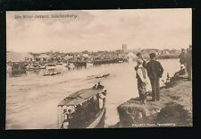 Gloucestershire Glos TEWKESBURY River Severn c1900/10s? PPC local pub Mallett