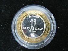 2005 Treasure Island .999 Silver $10 Dollar Token