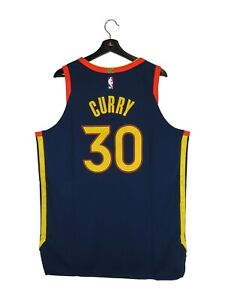 NWT Men's Stephen Curry Golden State Warriors Nike Authentic NBA Jersey (XL).