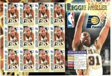 Union Island 2005 - NBA Reggie Miller - Indiana Pacers - Sheet of Twelve - MNH