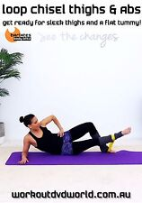 Pilates Toning with Band DVD - Barlates Body Blitz LOOP CHISEL THIGHS AND ABS!