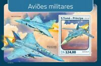 St Thomas - 2019 Military Planes - Stamp Souvenir Sheet - ST190111b
