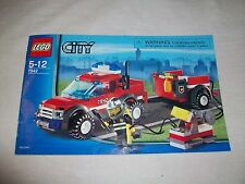 Lego Sets - 7942 - CITY - OFF ROAD RESCUE - 100% COMPLETE - RETIRED RARE
