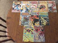 MARVEL FANFARE 31-40, Complete Set of 10, Captain America, X-Men, Asgard / Thor!