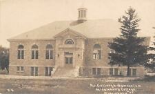 New listing Middlebury Vermont~College~McCullough Gymnasium~1914 Postcard RPPC