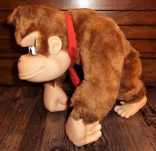 RARE Donkey Kong Country Plush Vinyl Figure Takara Japan SNES Nintendo Poseable