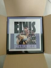 ELVIS THAT'S THE WAY IT IS 50th FTD BOX 8 CD set + 2 book New & sealed 1st Press