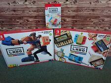Nintendo Labo Set (Design-Paket, Robo-Kit, oder Multi-Kit) NEU+OVP