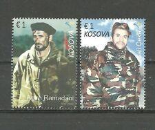 KOSOVO 2016 Battle of Kosare SET  MNH