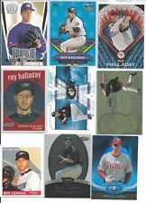 Roy Halladay 21 Card Lot w/Rookie 2 Cards
