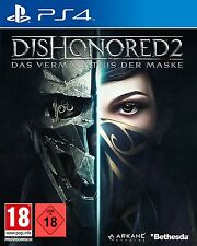 PS4 JUEGO DISHONORED 2: El Legado De La Máscara - DAY ONE EDITION EN
