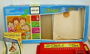 OHIO ART SKETCH A TUNE MUSICAL PENCIL TOY SET BOXED