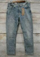 Levi's 511 Jeans Mens 36X32 Stretch Acid Wash Slim Fit Jeans New