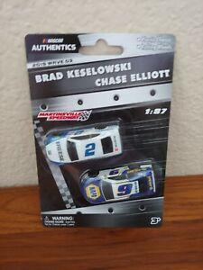 2019 Wave 3 #2 Brad Keselowski #9 Chase Elliott 1/87 NASCAR Authentics Twin Pack